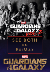 Poster for GUARDIANS OF THE GALAXY VOL. 2 - Celebrate with a Vol. 1 recap!