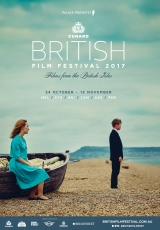 Poster for Cunard British Film Festival 2017 (SA)