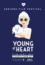 Poster for Young At Heart Festival 2017