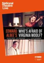 Poster for National Theatre Live: WHO'S AFRAID OF VIRGINIA WOOLF? (CTC)