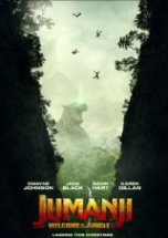 Poster for Jumanji: Welcome to the Jungle (PG)