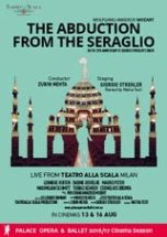 Poster for La Scala: THE ABDUCTION FROM THE SERAGLIO (CTC)