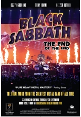 Poster for Black Sabbath: The End of The End (CTC)