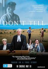 Poster for Don't Tell (M)