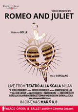 Poster for La Scala Ballet: ROMEO AND JULIET (CTC)