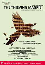 Poster for La Scala: THE THIEVING MAGPIE (CTC)