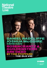 Poster for National Theatre Live: ROSENCRANTZ AND GUILDENSTERN ARE DEAD (CTC)