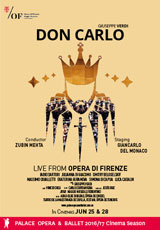 Poster for Opera di Firenze: DON CARLO (CTC)