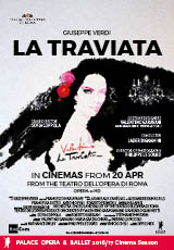 Poster for Opera Roma: LA TRAVIATA (CTC)