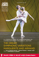 Poster for Royal Ballet: ASHTON TRIPLE BILL (CTC)