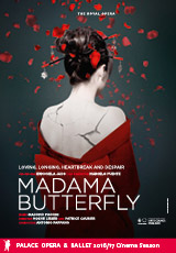 Poster for Royal Opera: MADAMA BUTTERFLY (CTC)
