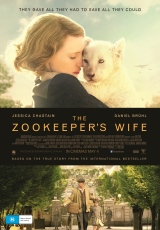 Poster for The Zookeeper's Wife (M)