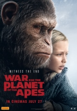Poster for War for the Planet of the Apes (M)