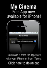 Poster for Avoid the Queue! MY CINEMA Free App for iPhone & Android